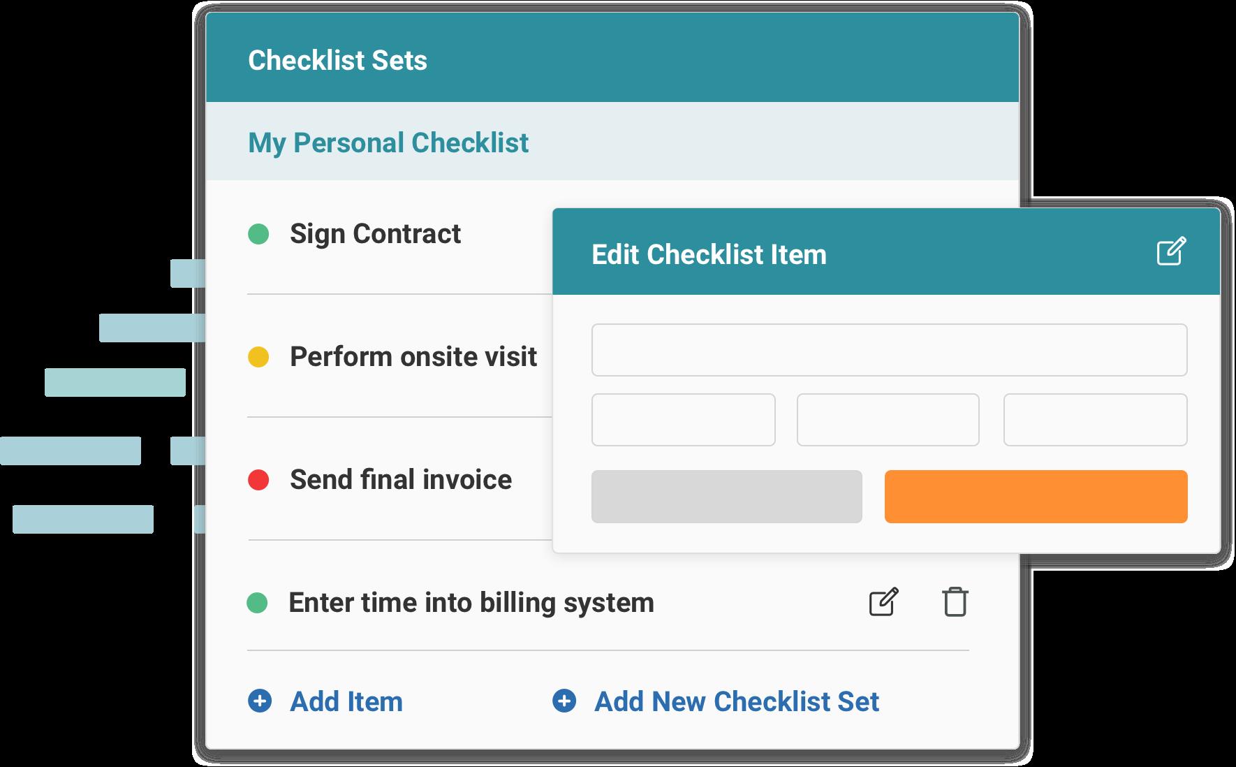 Service Provider Checklist